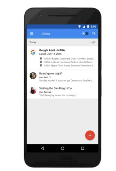 inbox by gmail trello github android