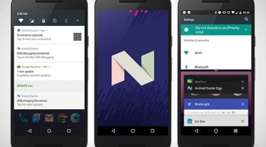 oneplus one android nougat
