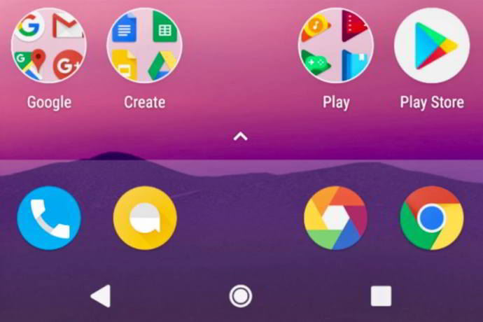 android 7.1 nougat boton home