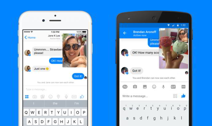 facebook messenger instant videos android