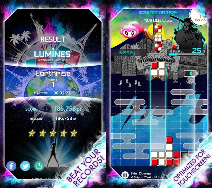 lumines puzzle and music android