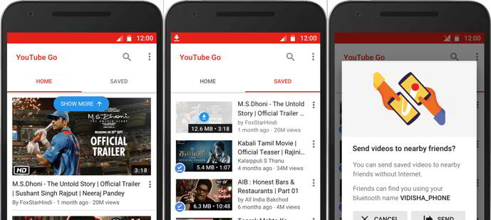 youtube go android