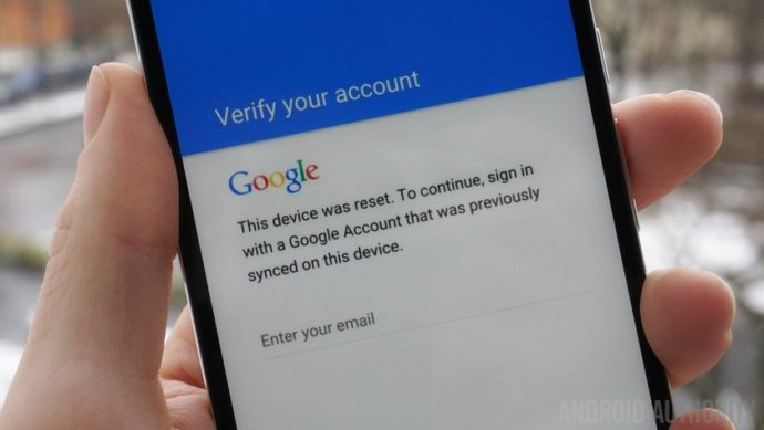 factory reset protection android