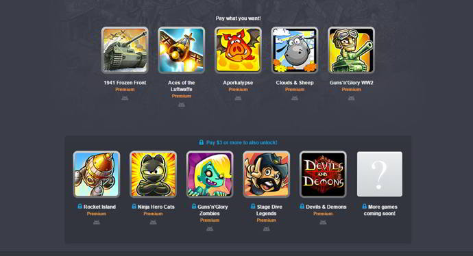 humble mobile bundle handygames android