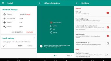open gapps android