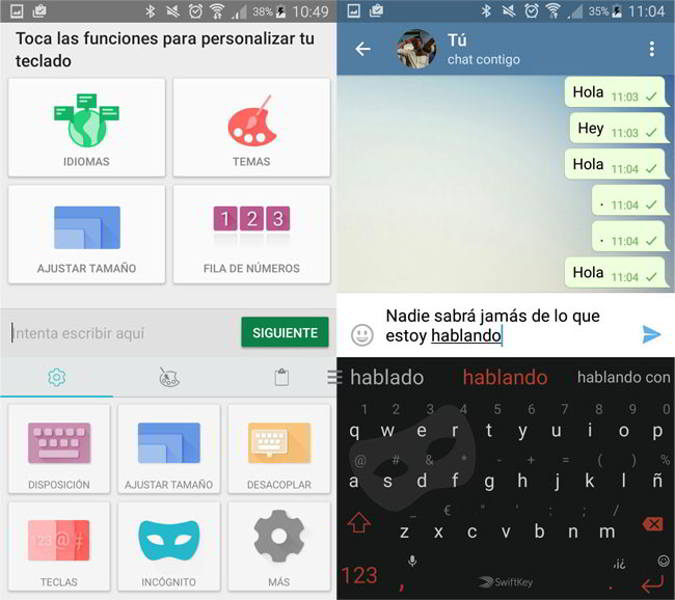 swiftkey incognito android