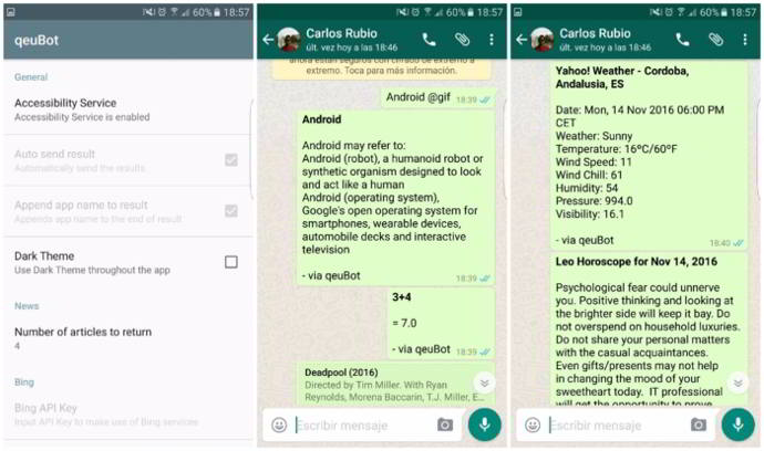 whatsapp android qeubot android