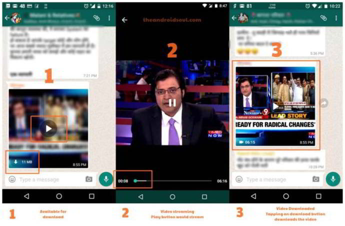 whatsapp beta streaming android