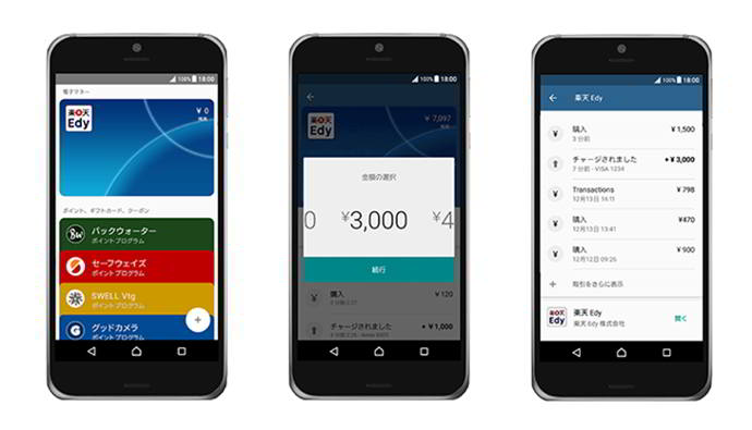android pay japon android