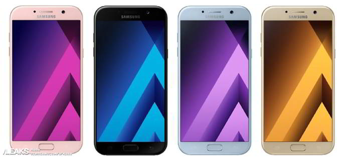 galaxy a5 2017 android