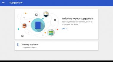 google contacts v1.6 android