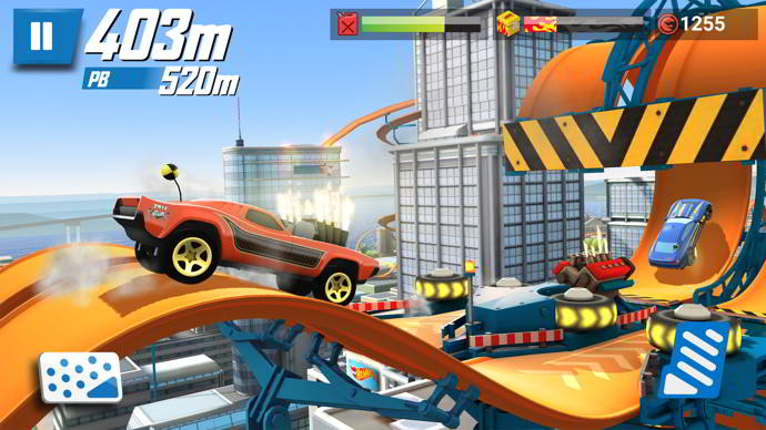hot wheels race off android