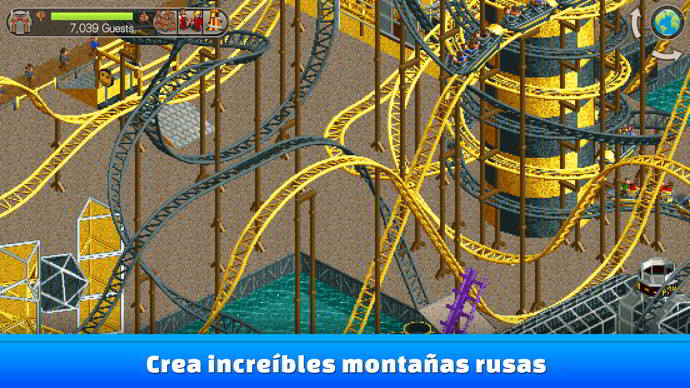 rollercoaster tycoon classic android 1