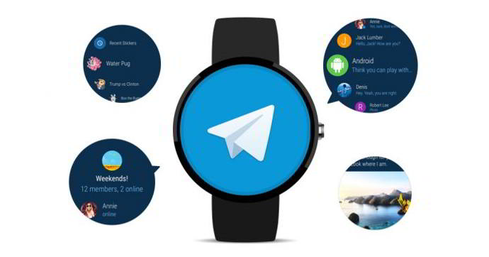 android wear telegram