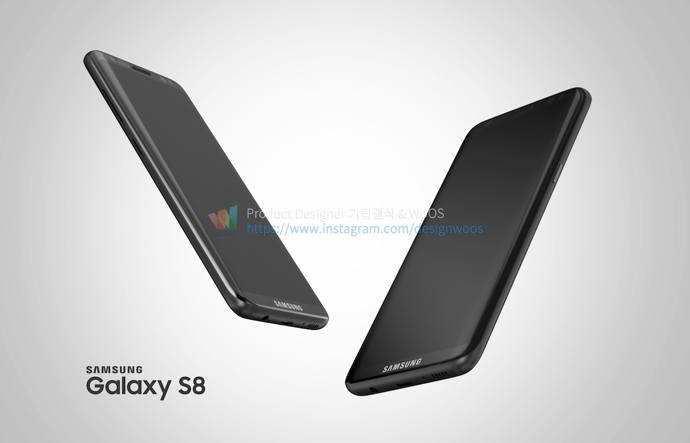 galaxy s8 render android