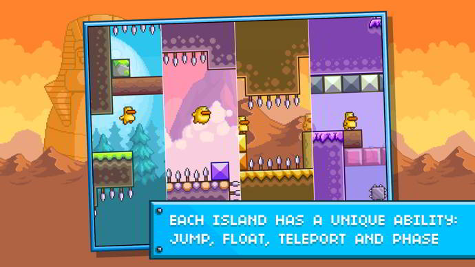 gravity duck islands android