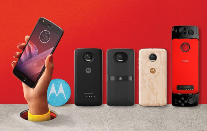 moto z2 android