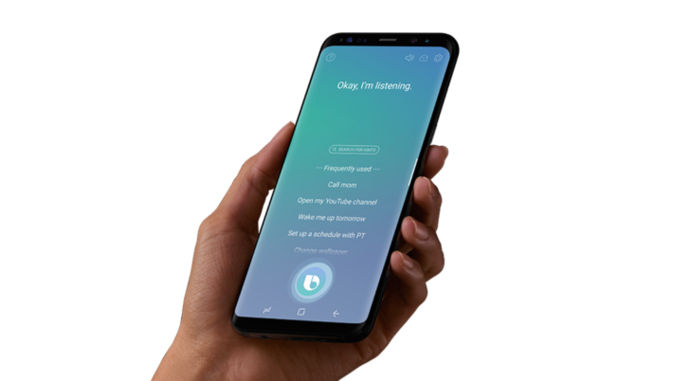 galaxy s8 bixby voice android