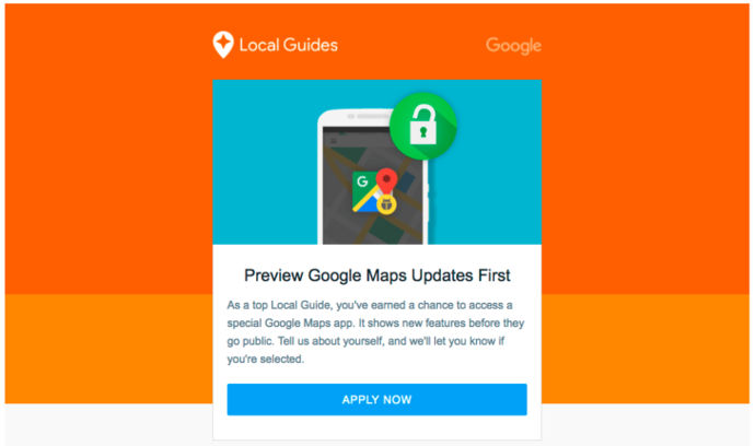 google maps guias locales preview android