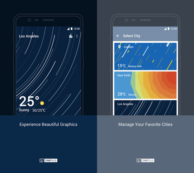 oneplus weather android