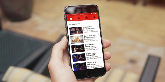YouTube-movil