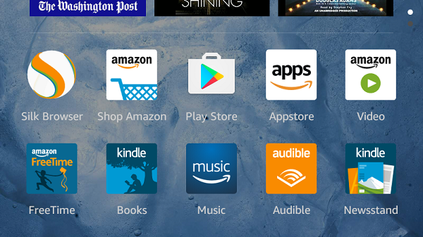 amazon fire play store