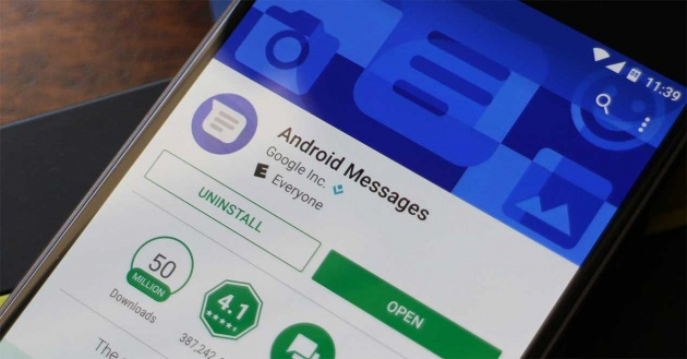 cliente web de android messages