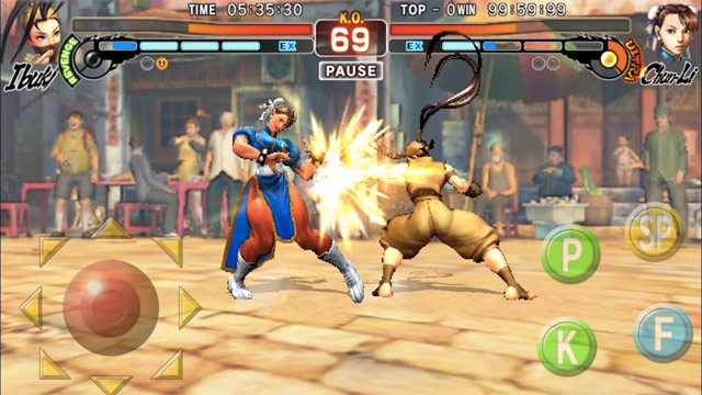 street fighter para android