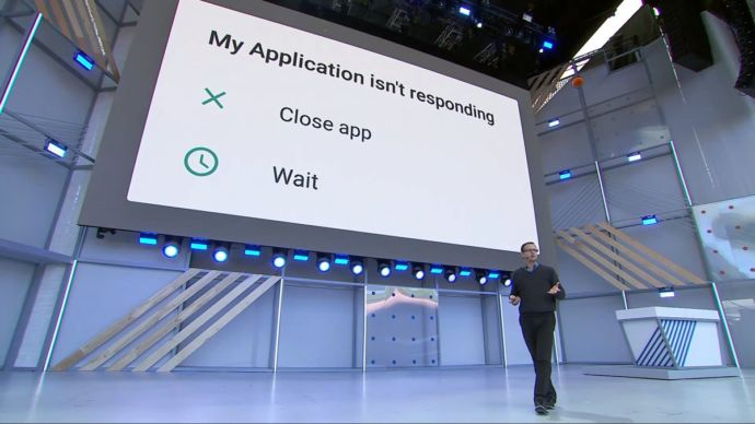 Android P cierre apps