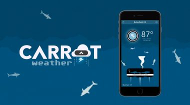 Carrot Weather en Android