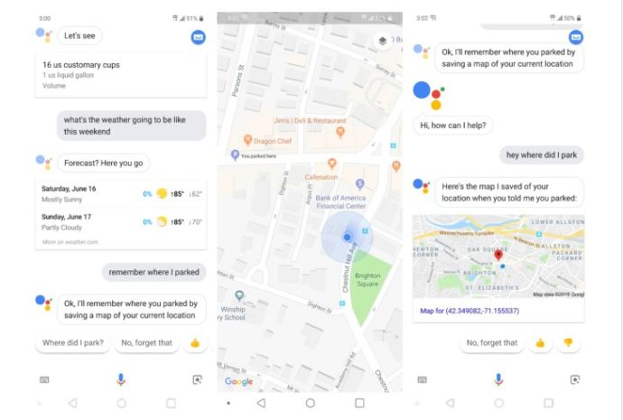 Google Assistant Maps