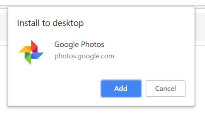 Google Photos Aplicación Web Progresiva