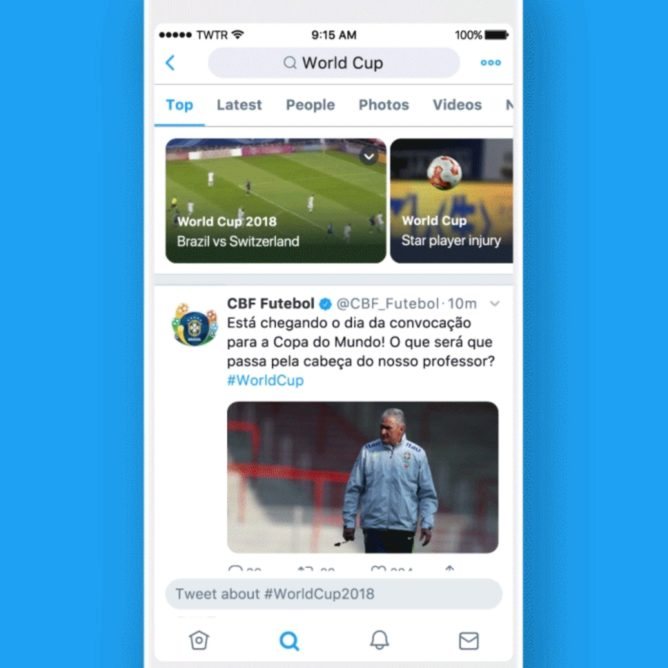 Twitter Android noticias
