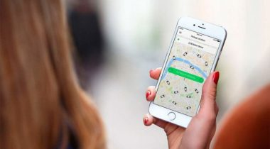 Google Maps Taxify