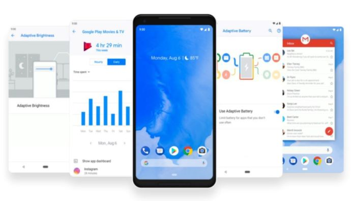 Android Pie móviles compatibles