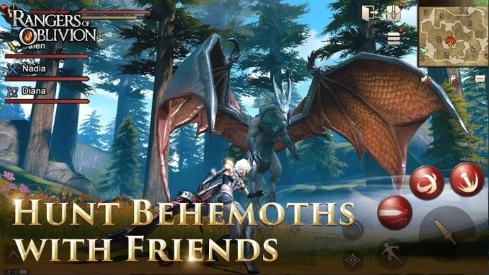 Rangers of Oblivion Juegos Android