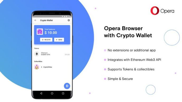 Android Wallet Billetera OPERA