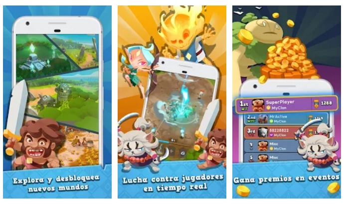 Mejores Juegos Android World of Legends