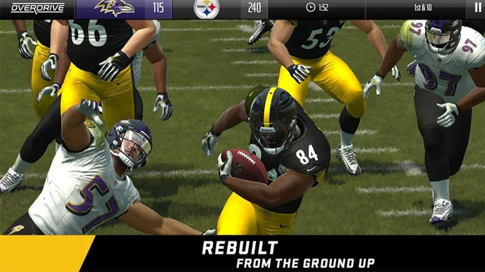 Mejores juegos de deportes para Android Madden NFL Overdrive Football
