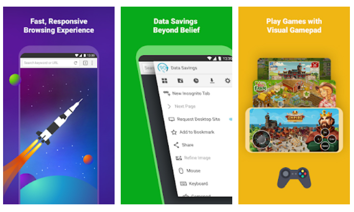 Navegadores Android Puffin Web Browser