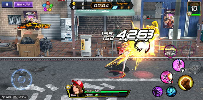 the-king-of-fighters-allstars-juego-de-android