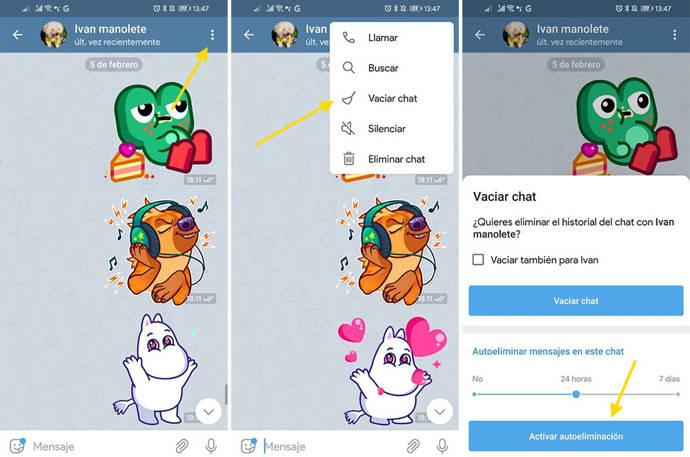 Telegram-android-chats.