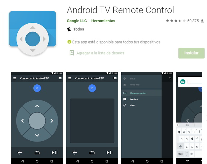 android-tv-remoto